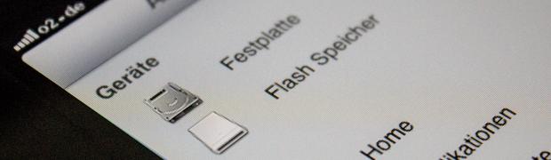 iFile auf iPad