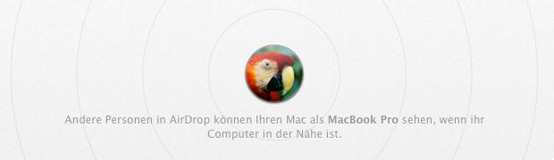 OS X - AirDrop via LAN und für ältere Macs aktivieren