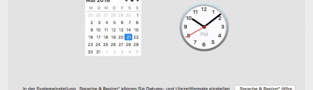 Uhrzeit von macOS mit Atomuhr synchronisieren