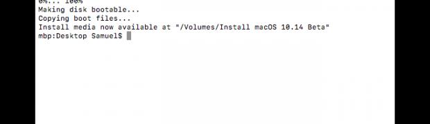 macOS 10.14 Mojave – bootfähiger USB-Stick