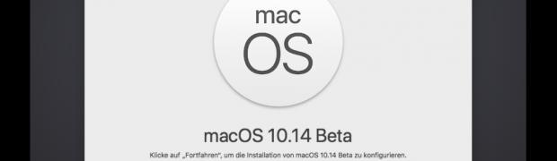 macOS 10.14 Mojave in VMware installieren