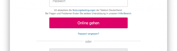 Telekom-Hotspot - Login per Shellscript