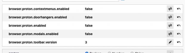 Firefox - Proton-UI deaktivieren (Klassisches Design wiederherstellen)