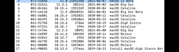 macOS 12 Monterey – Installer herunterladen