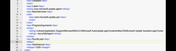 Microsoft Auto Update auf dem Mac deaktivieren